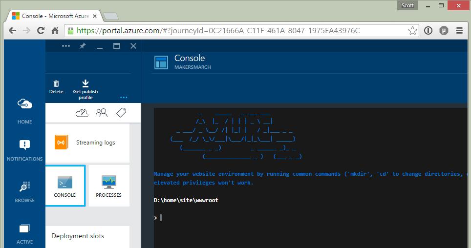 The New Azure Portal