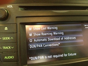 HOW TO FIX: Toyota Entune 2 0 1 Update breaks Internet Tethering