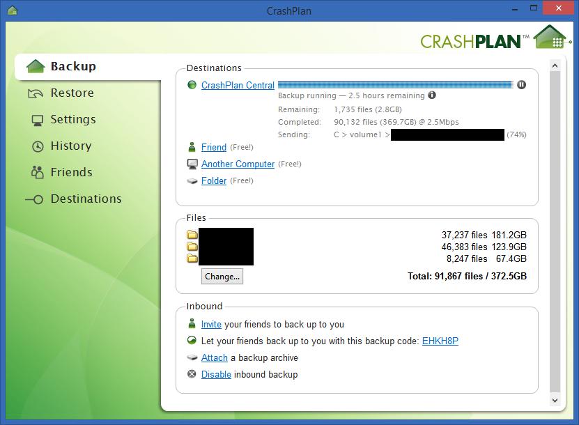 UPDATED 2014: How to setup CrashPlan Cloud Backup on a Synology NAS