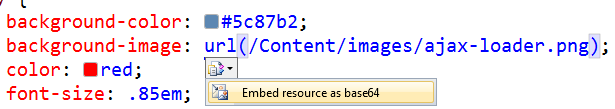Embed Resource as base64