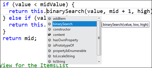 Nice JavaScript intellisense improvements in VS11