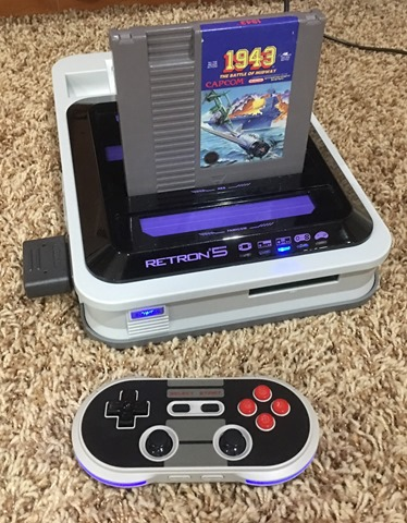 Hyperkin Retron 5 is amazing with an 8bitdo nes30pro!