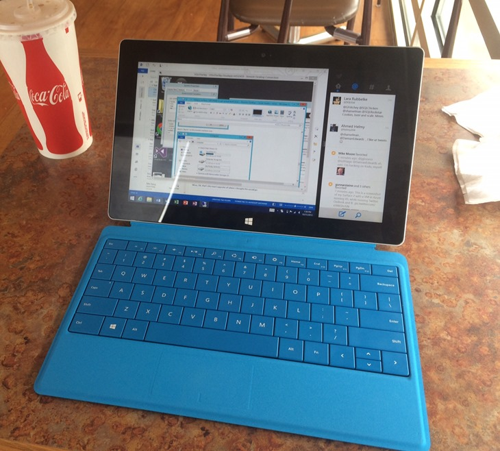 Using a Surface 2 (RT/ARM) to get actual work done + Remote