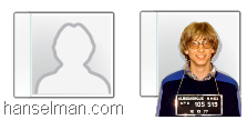 Lync 2010's default Person matches the outline of Bill Gates' 1977 Mug Shot