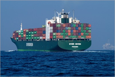 """Container Ship"" by NOAA's National Ocean Service is licensed under CC BY 2.0"