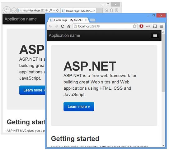 Visual Studio 2013 RC for Web Developers - One ASP NET