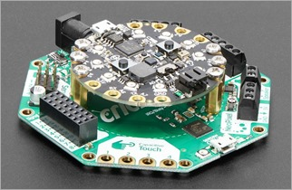 Circuit Playground Express and Crickit