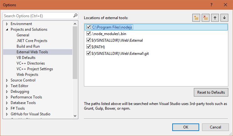 Visual Studio 2015 - Fixing