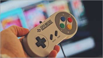 Super Nintendo Controller from Pexels