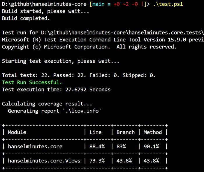 88% Code Coverage