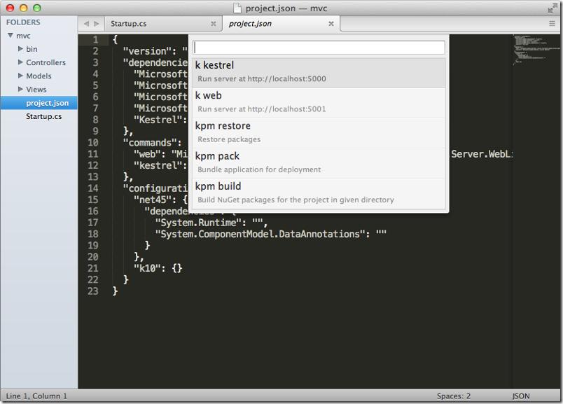 ASP.NET on a Mac