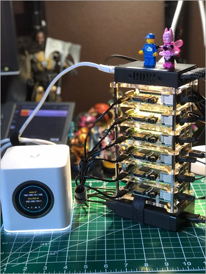 How to Build a Kubernetes Cluster with ARM Raspberry Pi then run