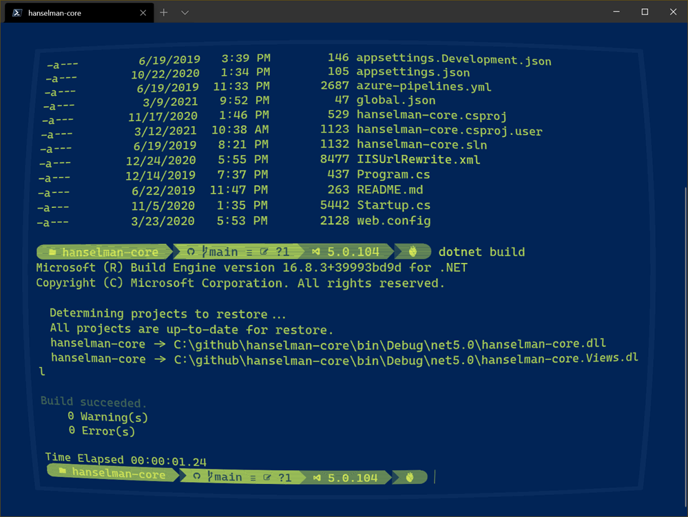 The Windows Terminal made better with the Command Palette plus Multiple Actions in one Command