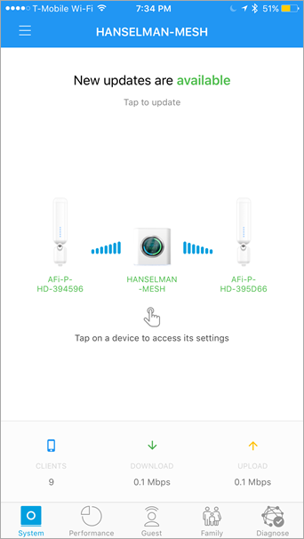 Review: The AmpliFi HD (High-Density) Home Wi-Fi Mesh
