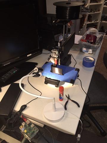 Where I 3D print.