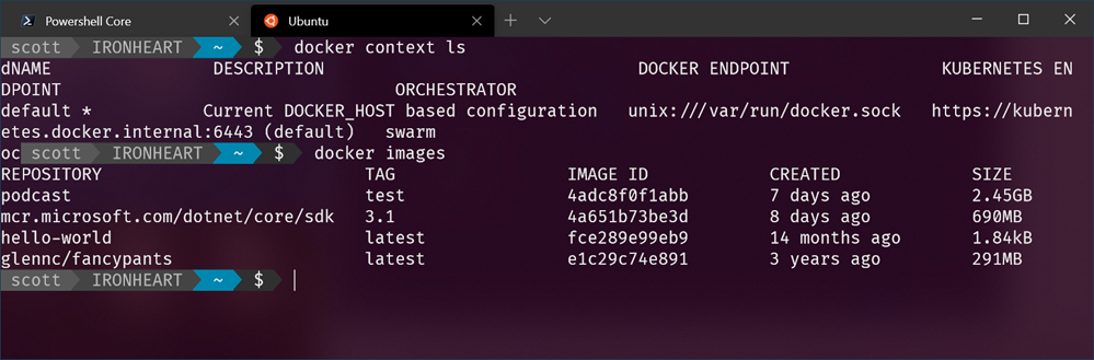 Docker in Ubuntu