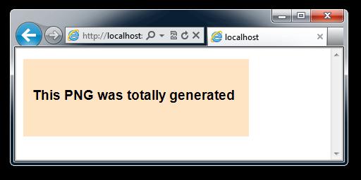 Back to Basics: Dynamic Image Generation, ASP NET