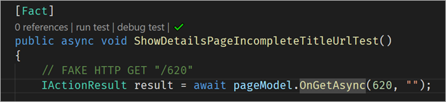 "Check out ""run test"" and ""debug test""  - image 1fde9203 b108 44eb b0f6 2784a8c7739c - Automatic Unit Testing in .NET Core plus Code Coverage in Visual Studio Code"
