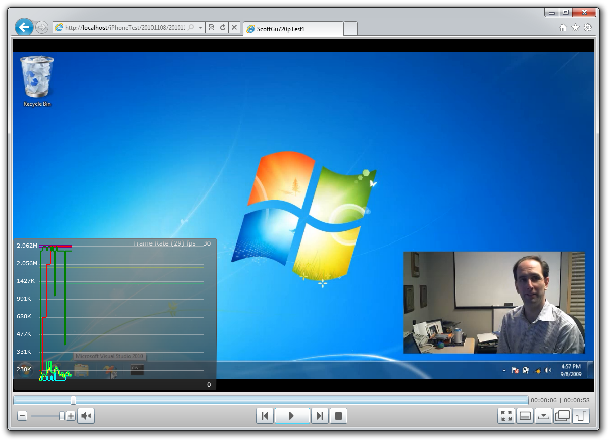 Streaming Live or On-Demand Video from IIS7 to iOS Devices