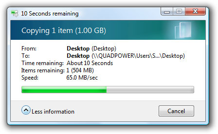 10 Seconds remaining