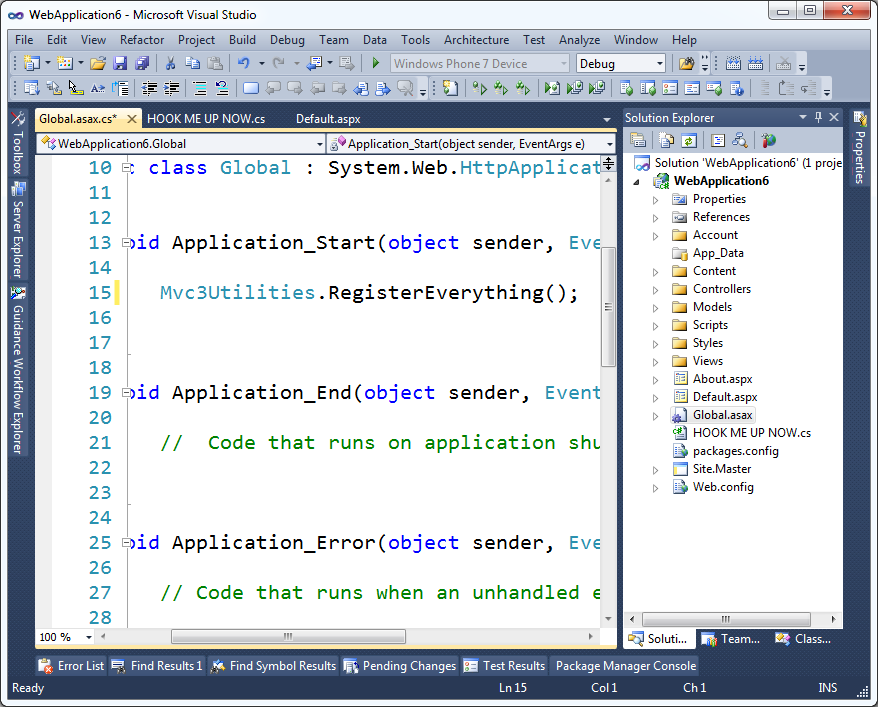 how to use nuget package in visual studio 2010
