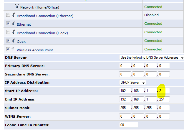 Configuring two wireless routers with one SSID (network name) at