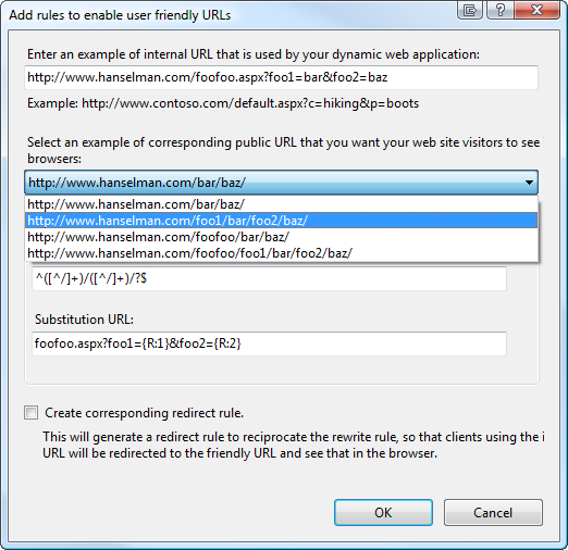 ASP NET MVC and the new IIS7 Rewrite Module - Scott Hanselman
