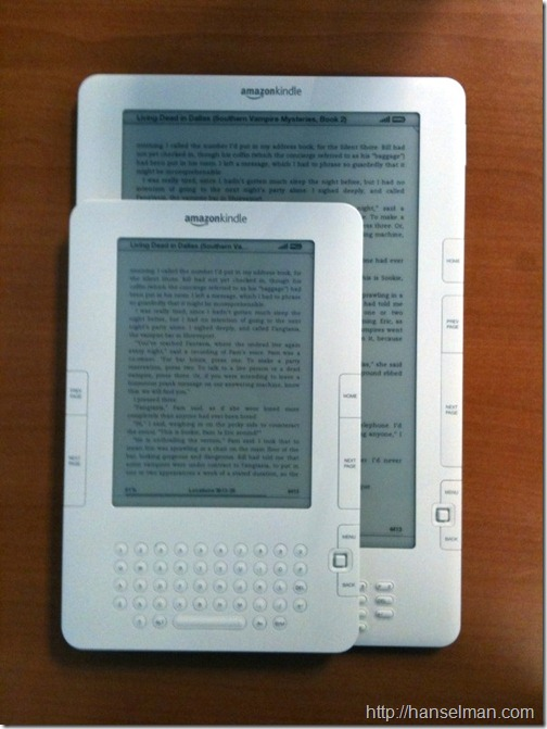 Kindles Side By Side