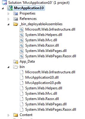 BIN Deploying ASP NET MVC 3 with Razor to a Windows Server without