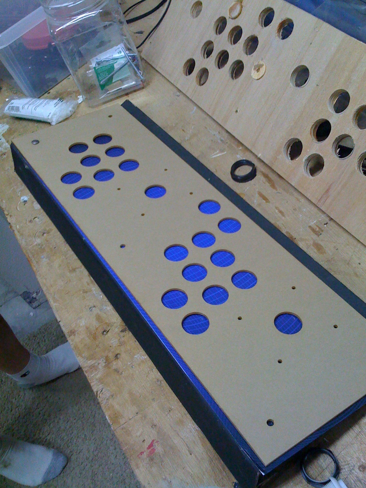 Building your own Arcade Cabinet for Geeks - Part 3 - Control Panel