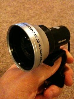 Lifecam with Wide Angle Zeikos Lens