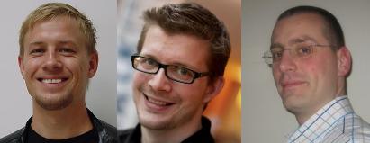 Aslak Hellesoy, Jonas Bandi and Gojko Adzic