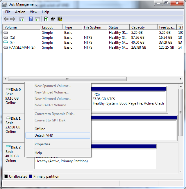 Less Virtual, More Machine - Windows 7 and the magic of Boot to VHD