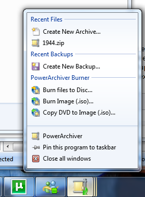Light it Up: List of Applications that use new Windows 7 Features