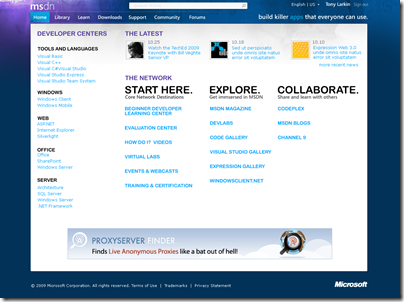MSDN_NORD_HOME