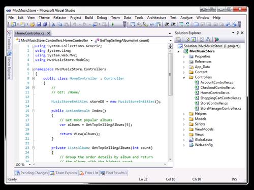 MvcMusicStore - Microsoft Visual Studio (5)