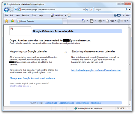 Google Calendar - Windows Internet Explorer