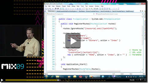 Mix: Mobile Web Sites with ASP NET MVC and the Mobile Browser