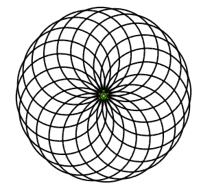 The LOGO Turtle drawing Circles in SmallBasic