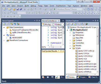 Too many toolboxes open in Visual Studio so I can't see the code