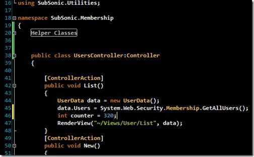 Visual Studio Programmer Themes Gallery - Scott Hanselman