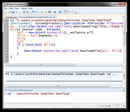 Windows PowerShell ISE (2)