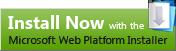 Install DasBlog now with the Web Platform Installer