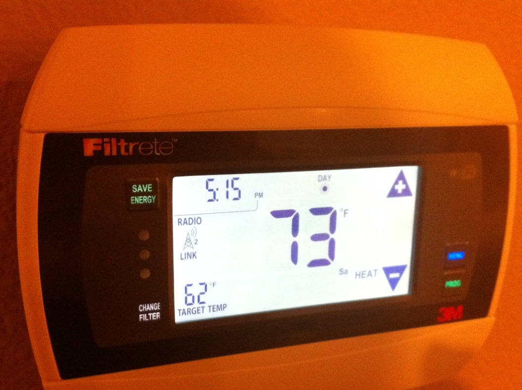 Review And Installation Filtrete Touchscreen Wifi Enabled Sensi Thermostat Wiring Diagram For Installing The