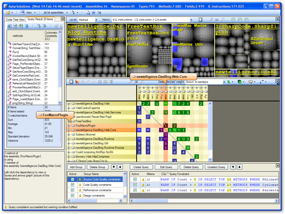 Exiting The Zone of Pain - Static Analysis with NDepend