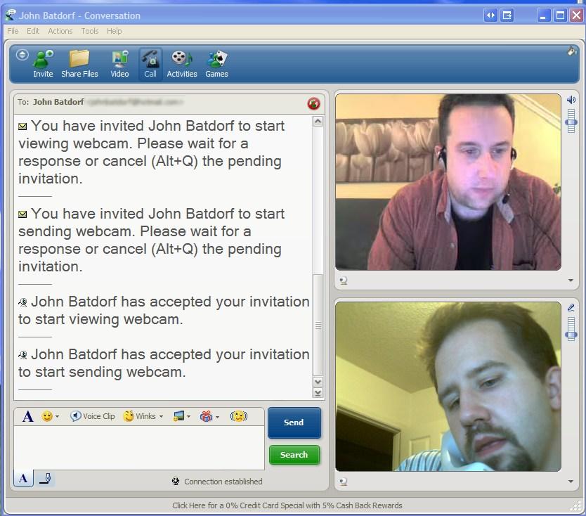 World webcam chat