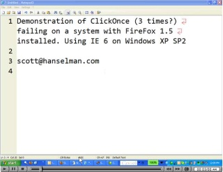 ClickOnce and FireFox with a custom setup equals ClickThrice
