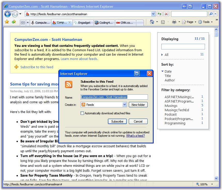 A new day, two new browsers compared - Firefox 2 0 Beta 1