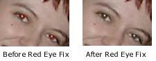 red eye fix