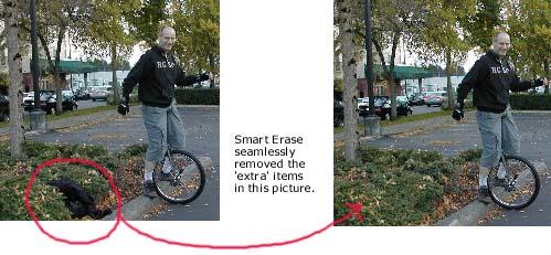 Smart Erase